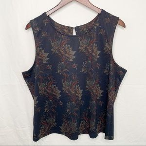 🦩2/$25 Jules & Leopold / Sleeveless Floral Top